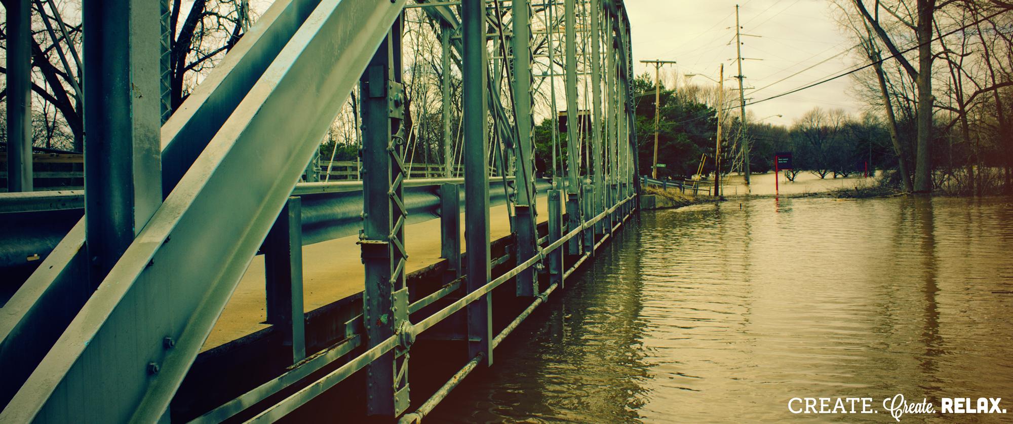 Emerson Park Bridge, Midland, MI