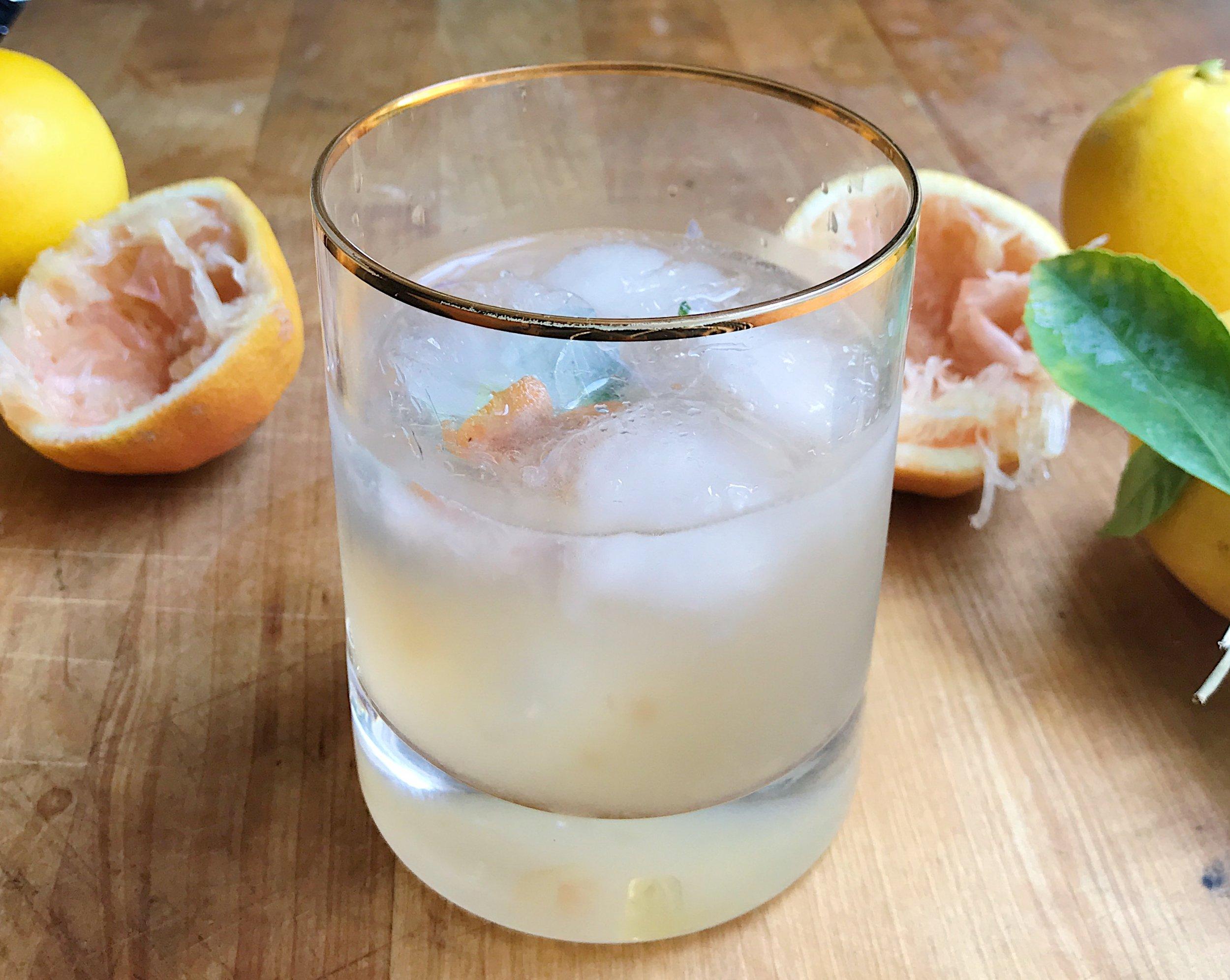 Honey & Lemon Margarita
