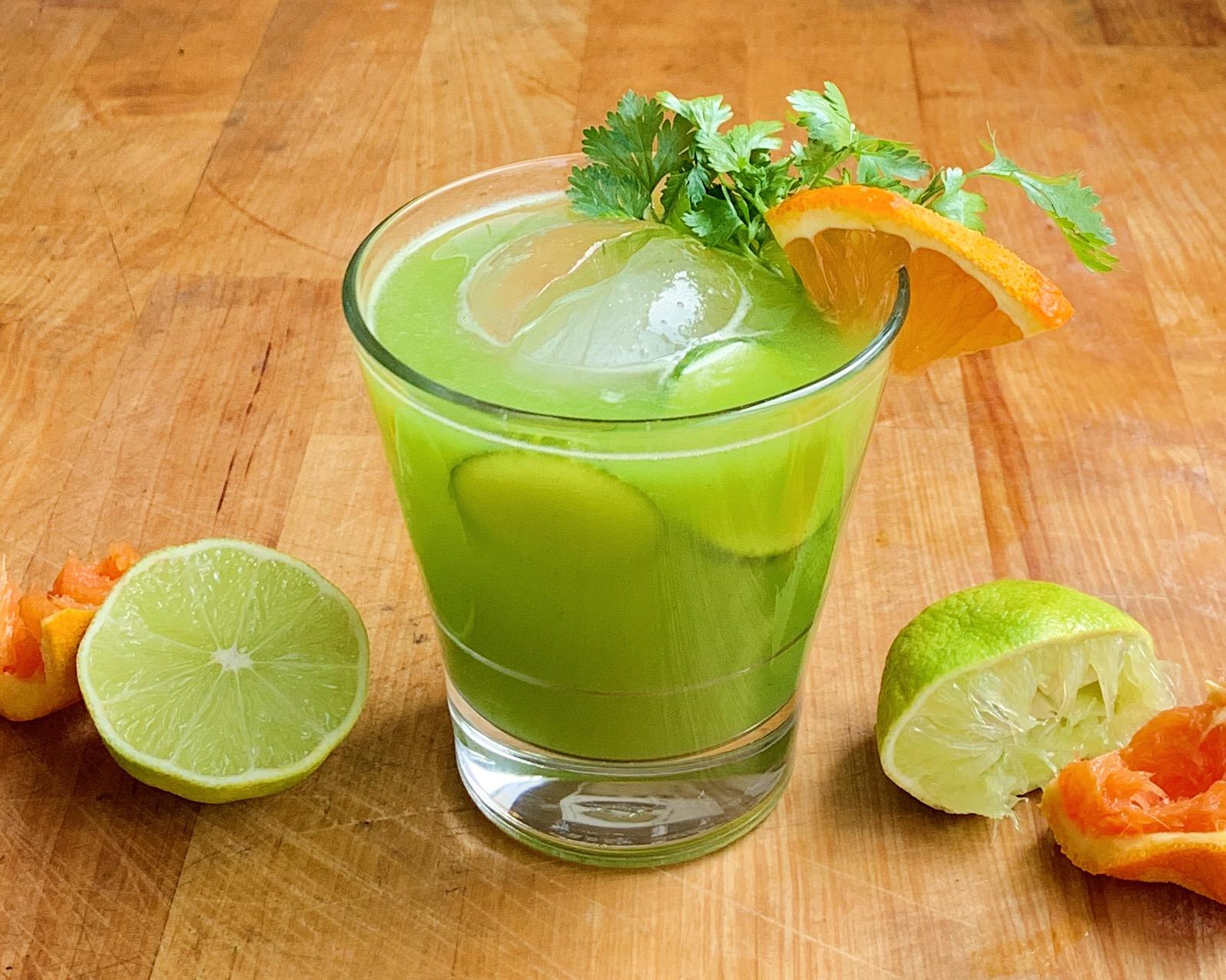 Cucumber & Cilantro Margarita