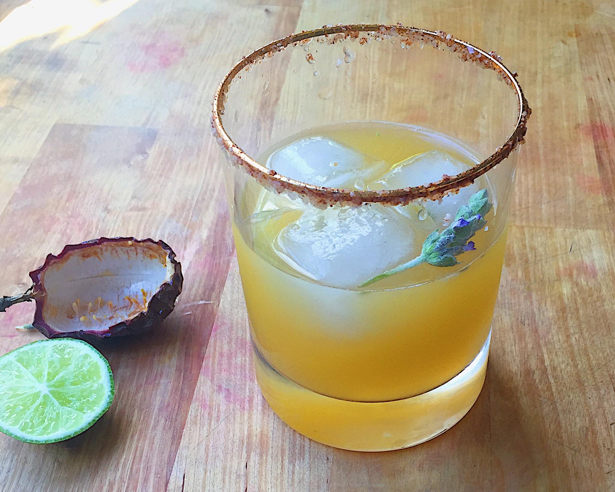 Passion Fruit & Lavender Margarita