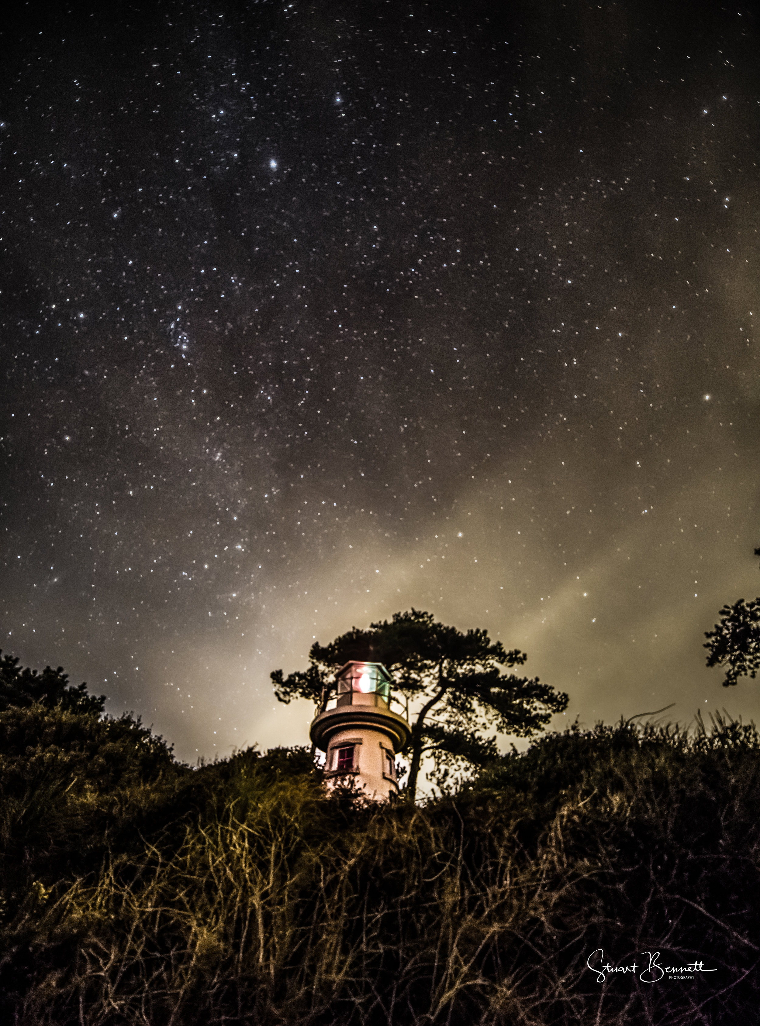 20150217-Lepe Lighthouse and the Universe.JPG