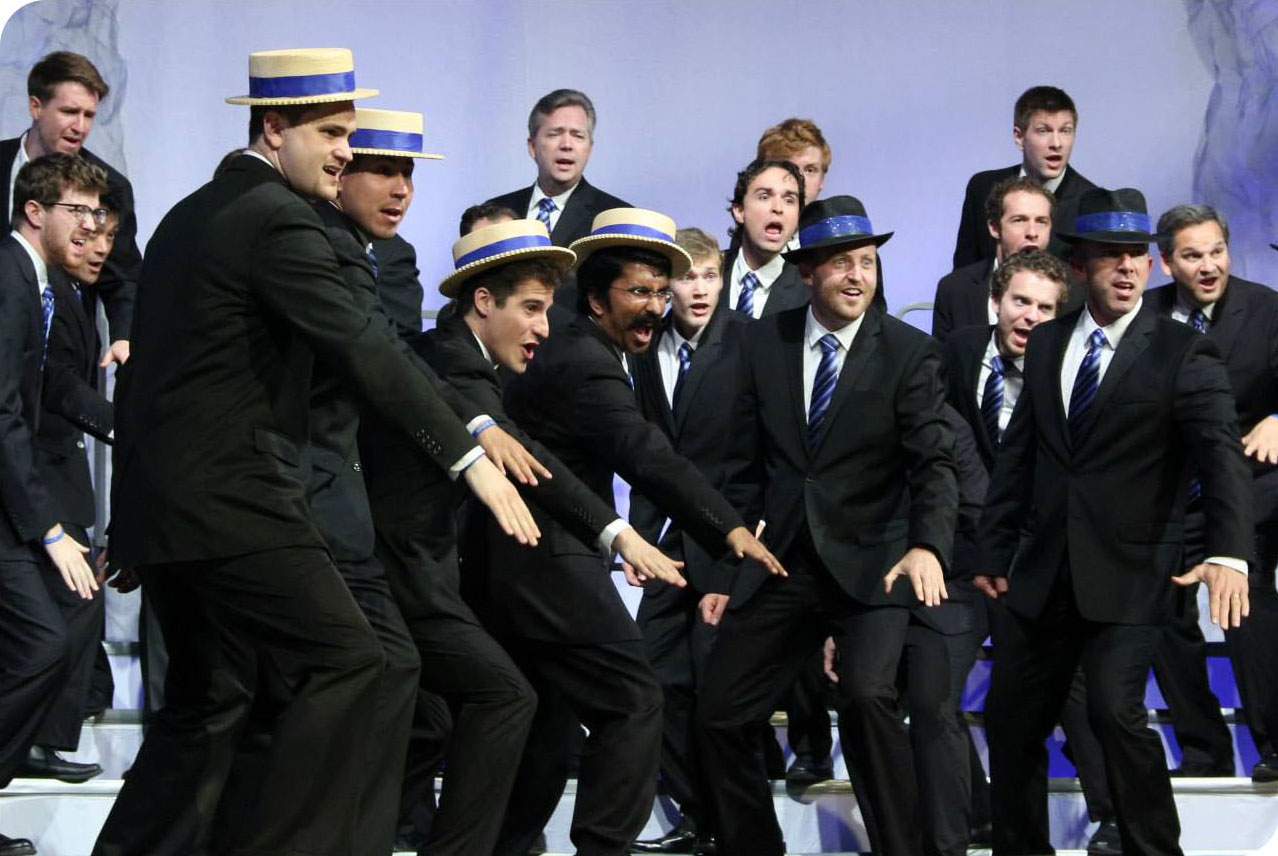 Voices of Gotham's performance at the  Barbershop Harmony Society 's International Chorus Competition in Toronto, Ontario, July 2013