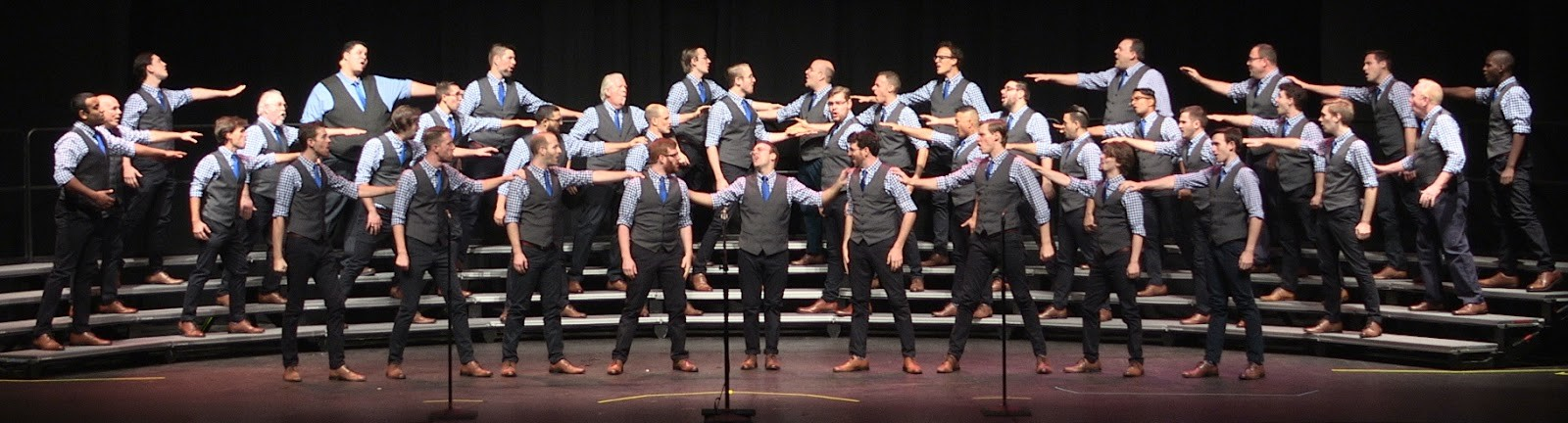 """Voices debuting """"King of New York"""" at Mid-Atlantic District Competition in Reading, PA"""