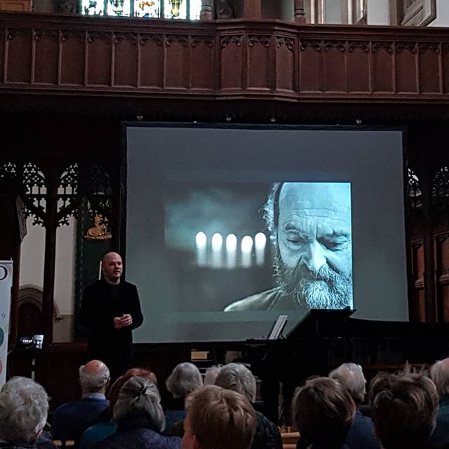 @kaupokikkas talking about his work with Arvo Pärt and his #anselproject @OxfordMayMusic