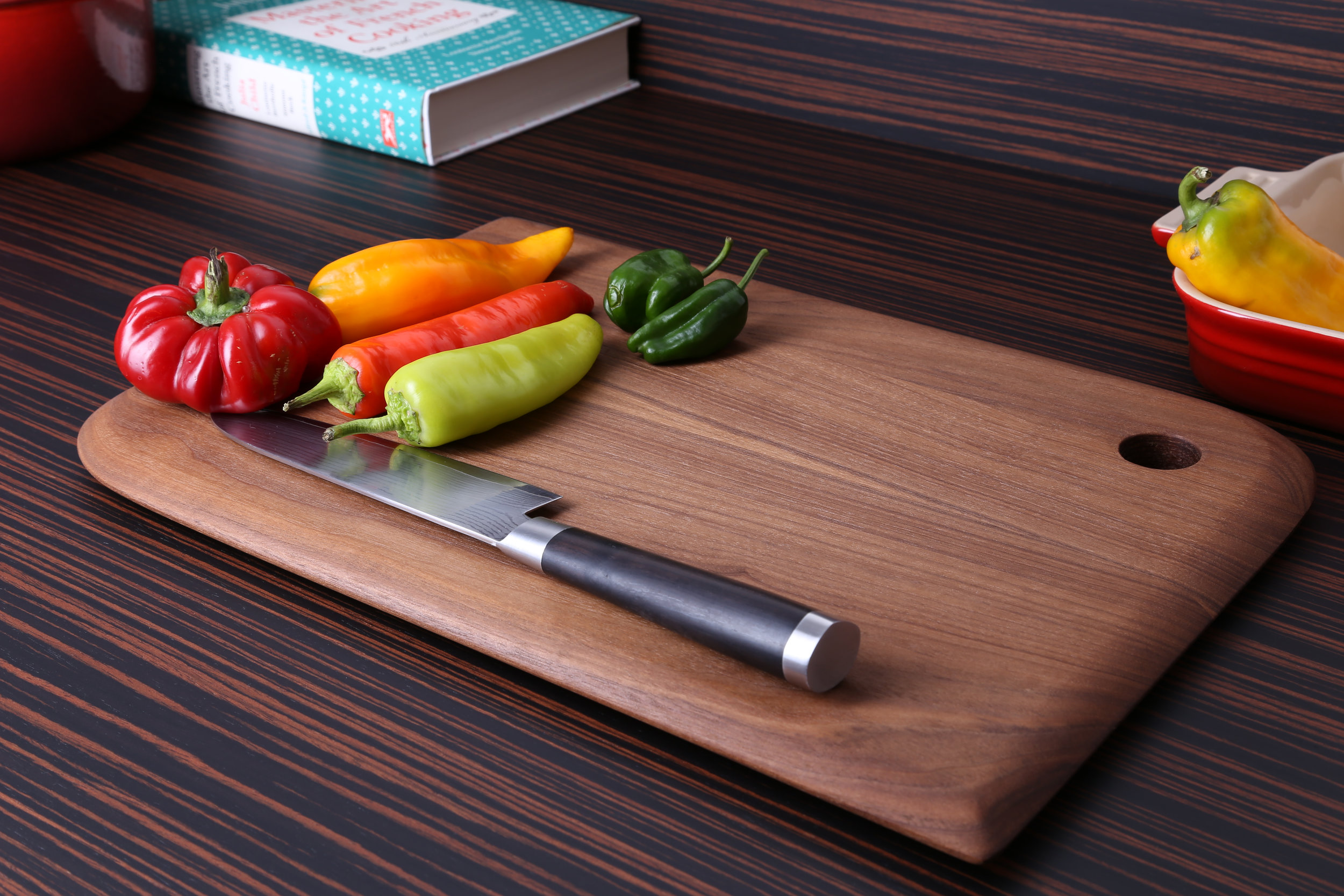 Walnut Face Grain Serving Board