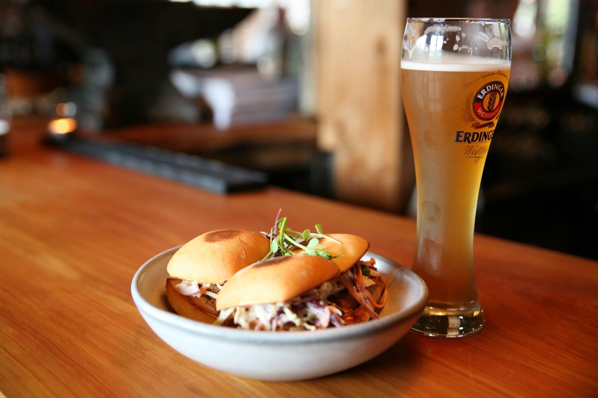 Smiths Beef Brisket Sliders with Asian style coleslaw & kewpie mayo