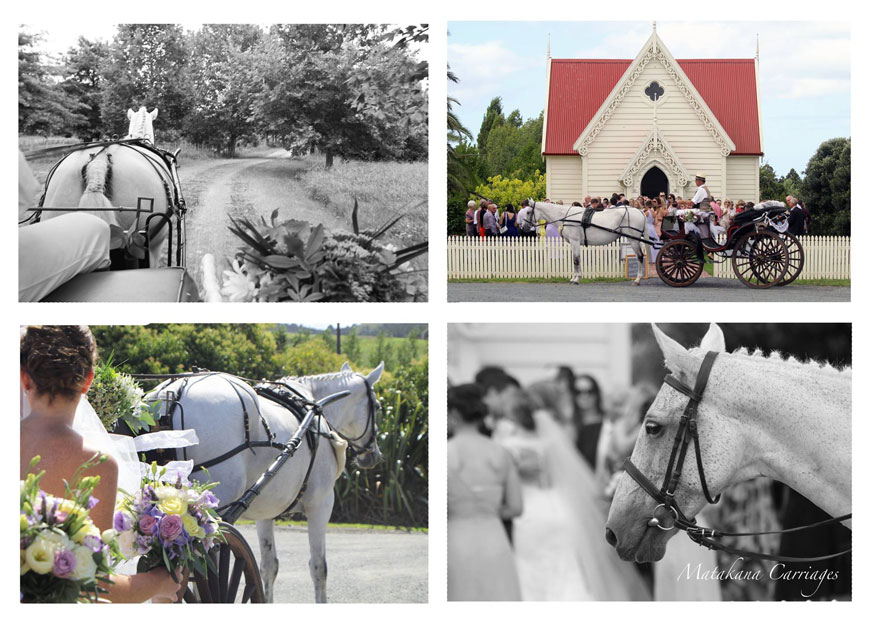 Horse & Carriage. - Complete that vintage look and arrive by Horse & Carriage! The Stables overlooks an equestrian park. Talk to us about how we can organise your special ride or inviting the horses to appear on the day.