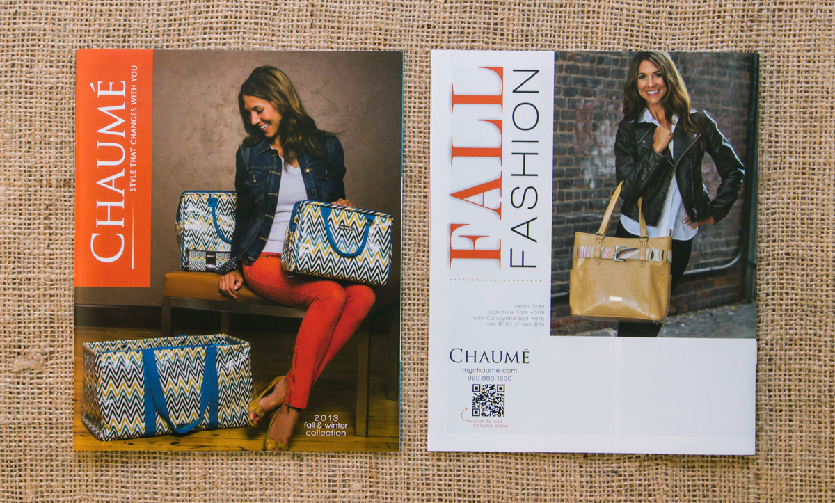 Chaumé 2013 Fall/Winter Collection Catalog // Front & Back Covers