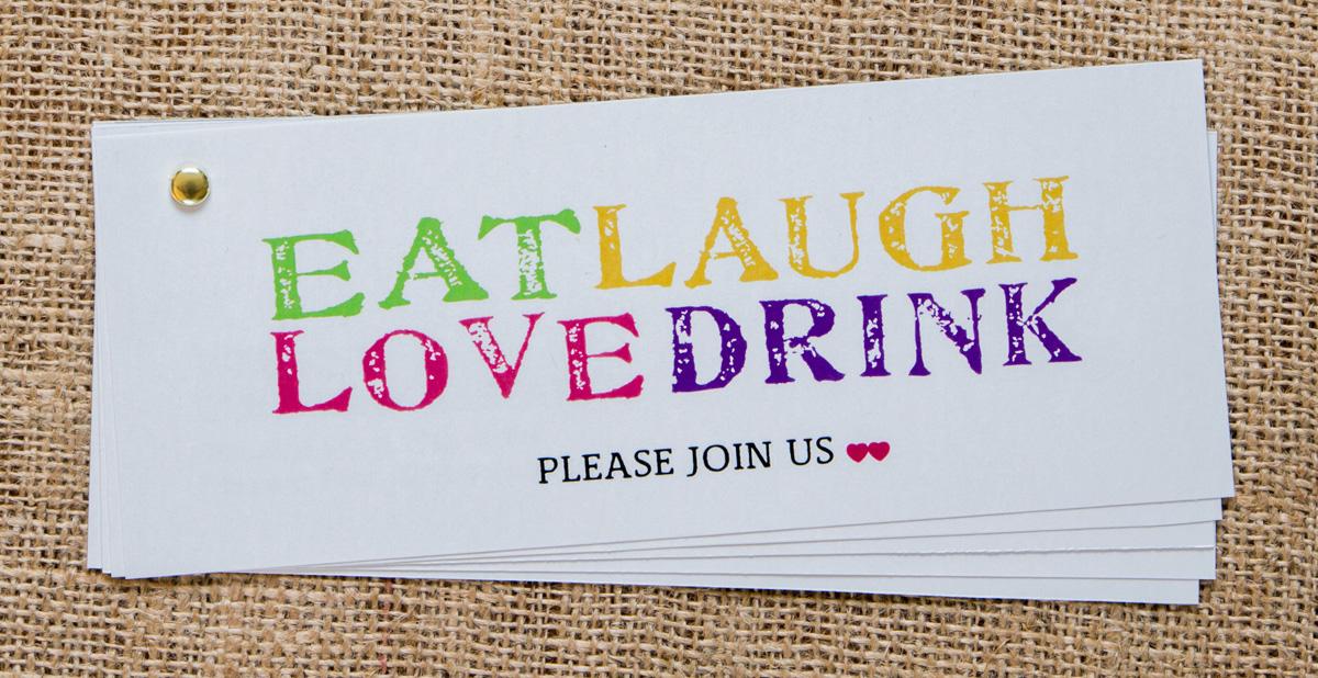 Wedding Events Invitation Set