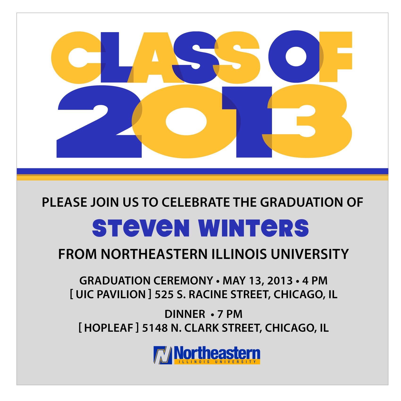 Graduation Invitaiton