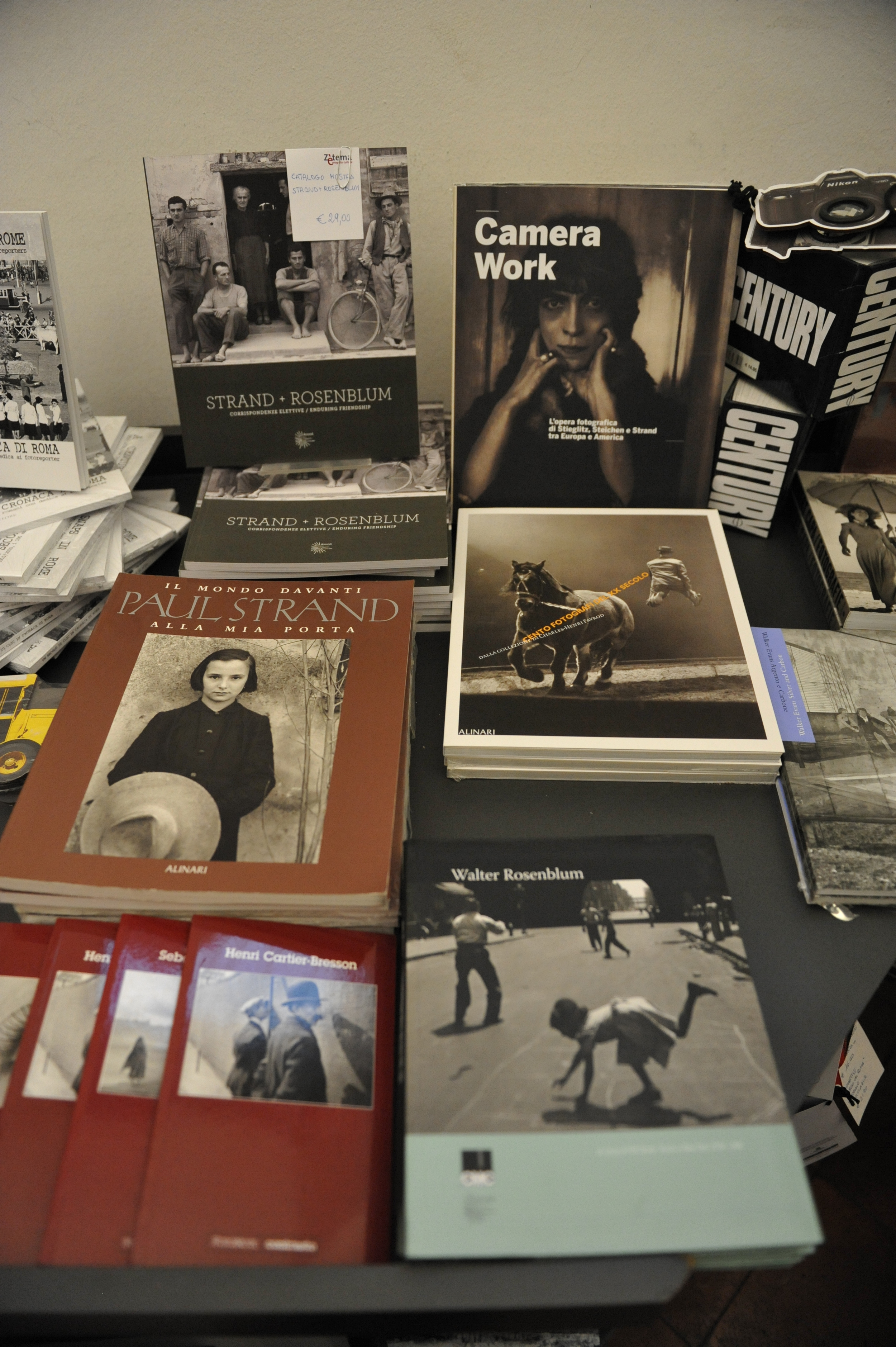 Books on Strand + Rosenblum