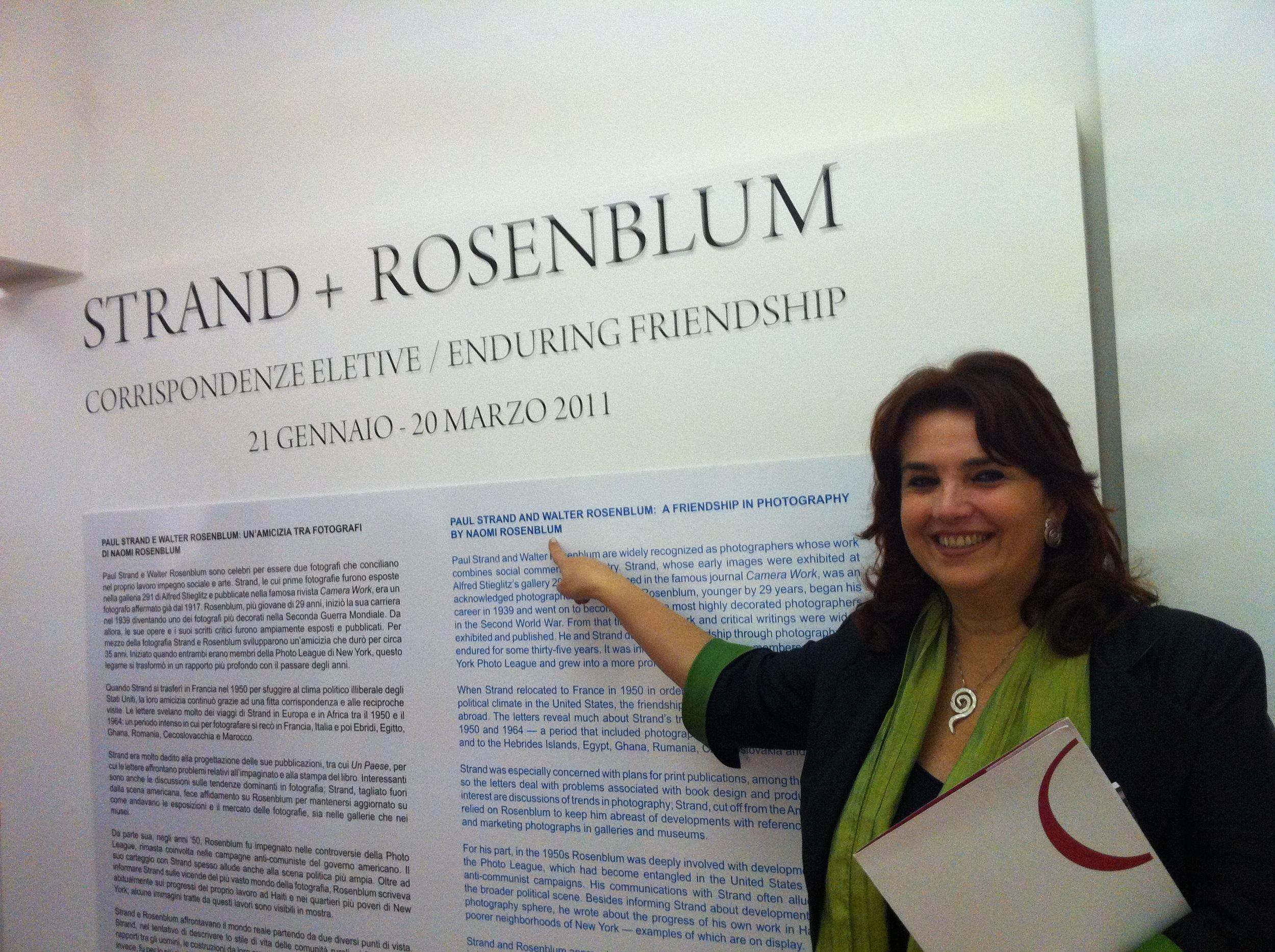 Enrica Vigano, Admira, Exhibition Curator