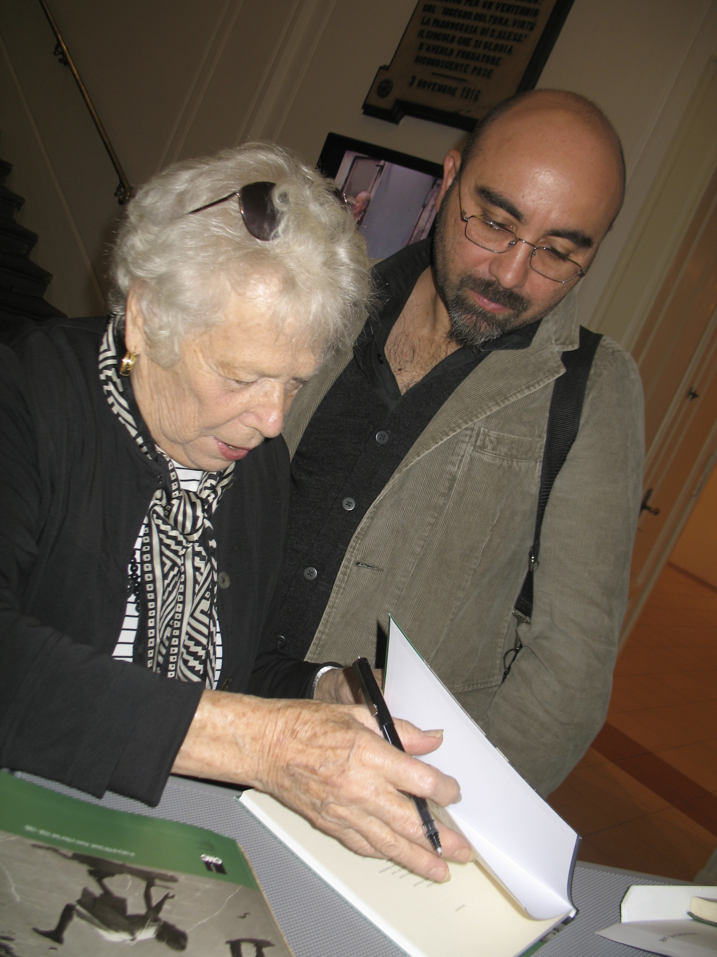 Naomi Rosenblum and Photographer Aniello Barone