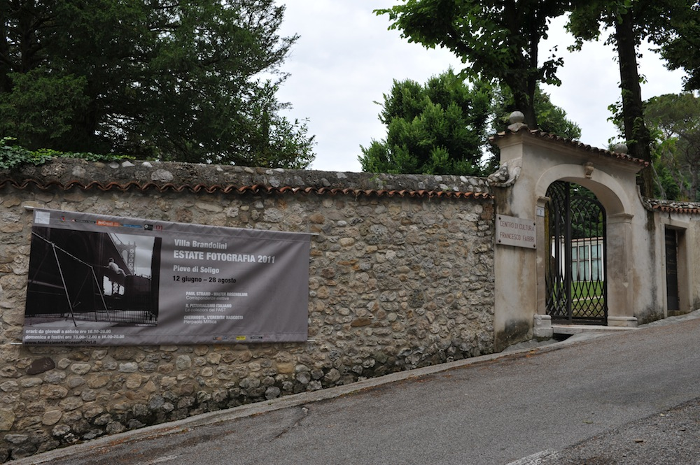 Exhibition Sign, Palazzo Brandolini