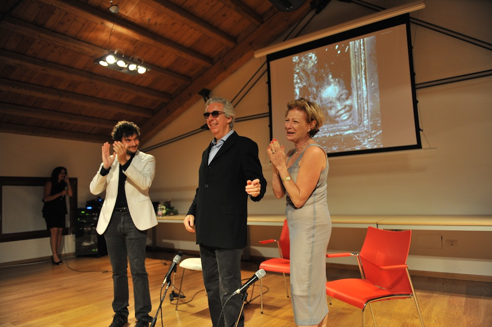 "Q&A with Daniel Allentuck and Nina Rosenblum following screening of ""Walter Rosenblum: In Search of Pitt Street"""