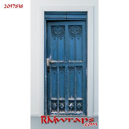 Door wrap Blue 2057838