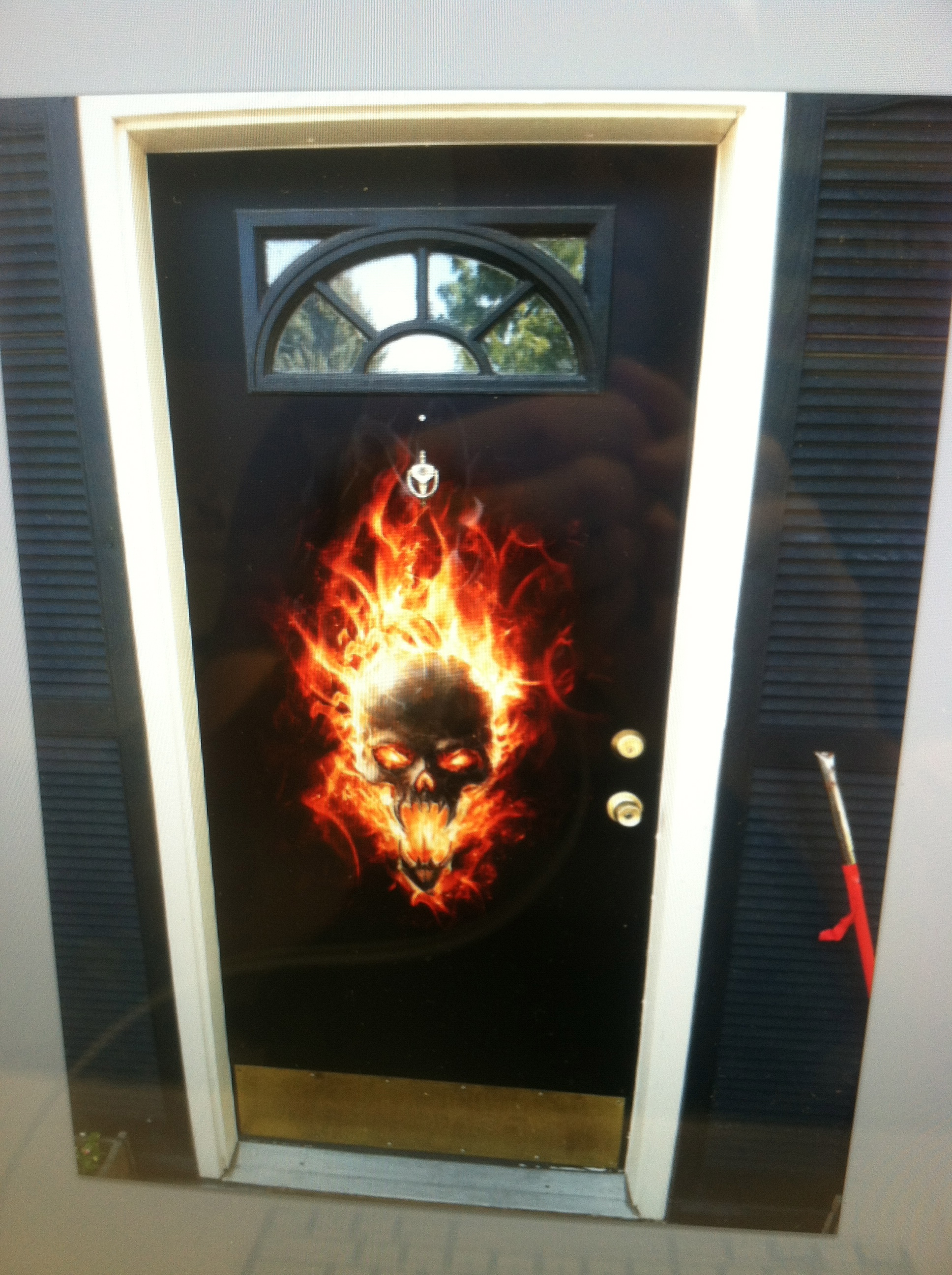 Halloween Door wrap — Rm Wraps