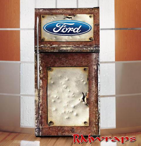 Ford refrigerator wraps