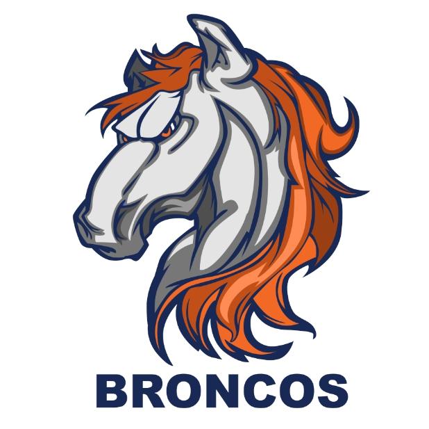 Redesign Bronco's logo