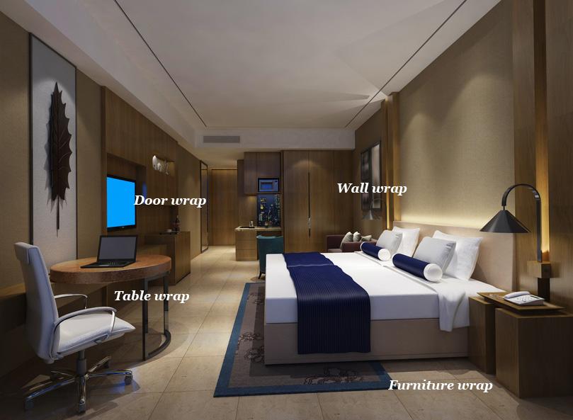 Hotel Room Interior wrap