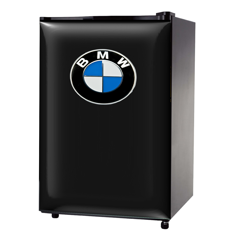 BMW logo gloss mini fridge wrap sticker
