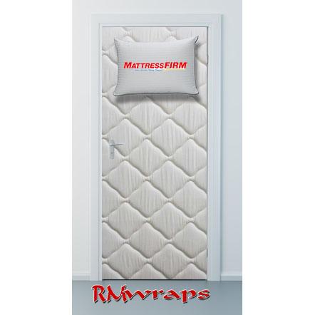 Company door wraps