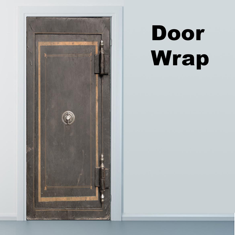 Vintage Safe Door wrap