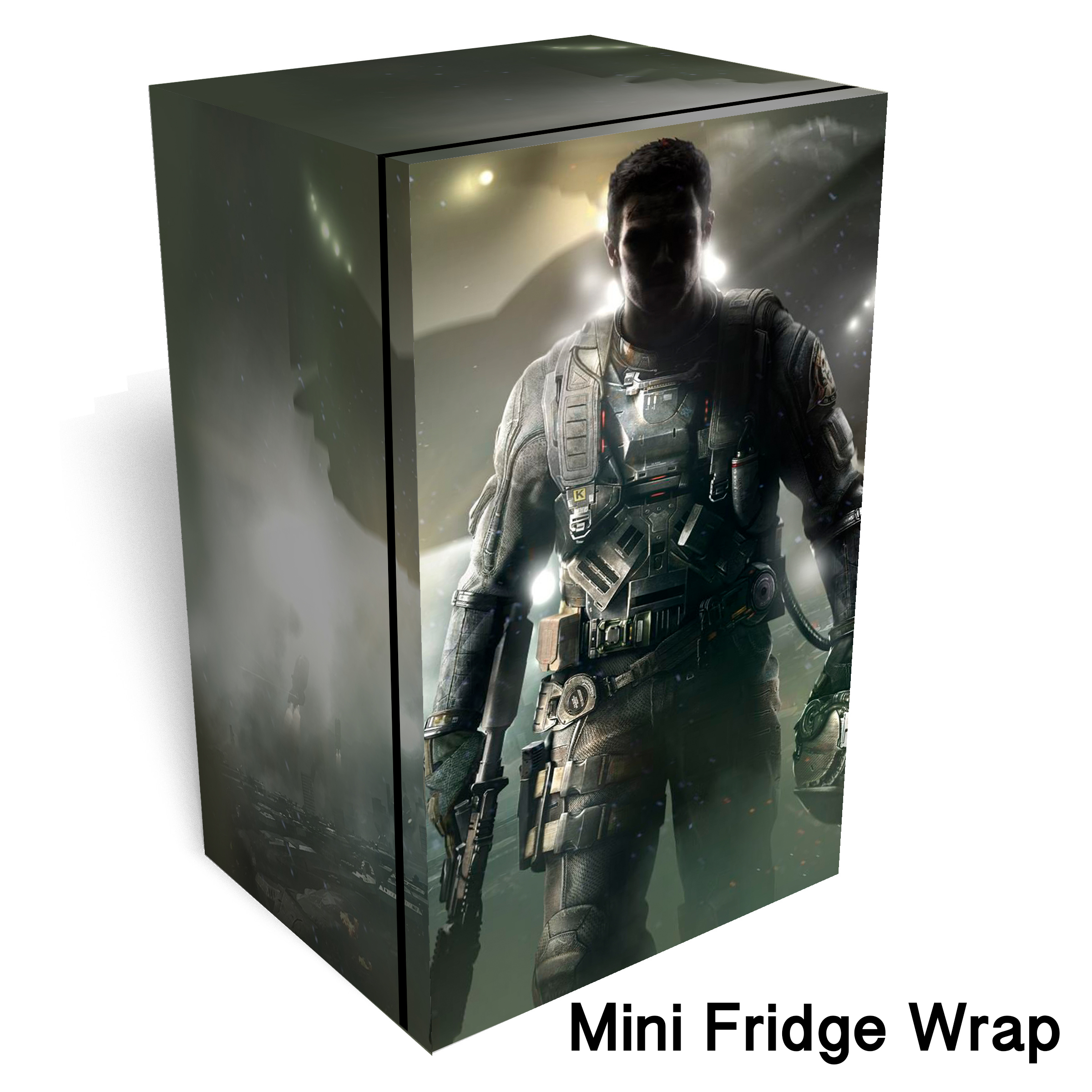 Call of Duty Infinite Warfare Mini Fridge wrap 1