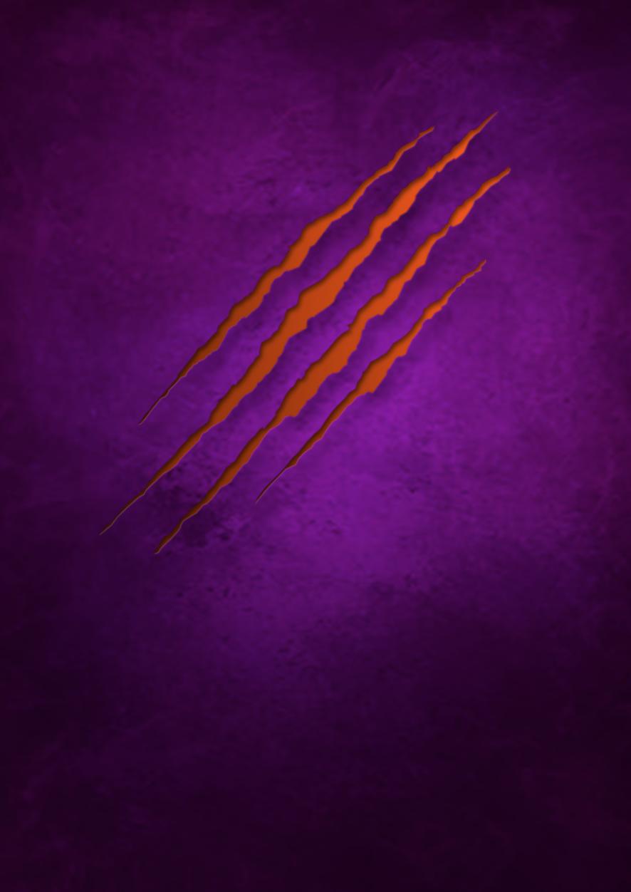 Tiger Scratch, Mini Fridge Skin, purple, rm wraps