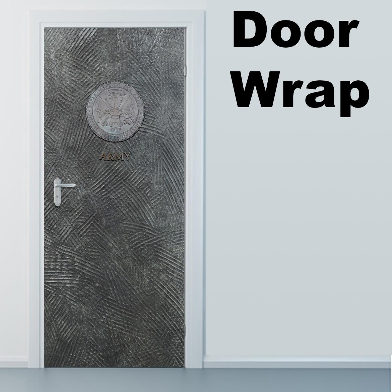 Army Metal Door Wrap