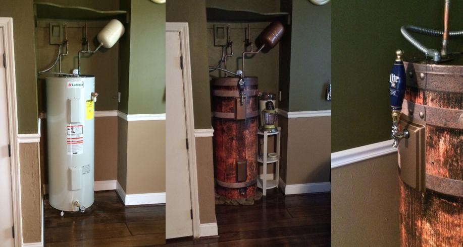Beer Barrel, Water Heater Wrap, Rm wraps