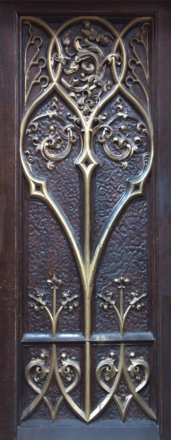 Gothic, Gold, Door Wrap, Rm wraps,