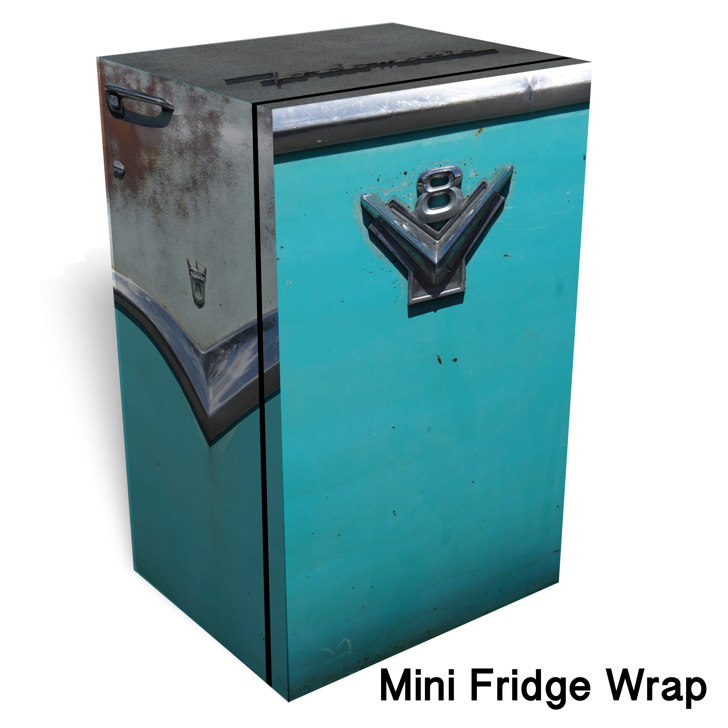 Fordomatic Mini Fridge Wrap