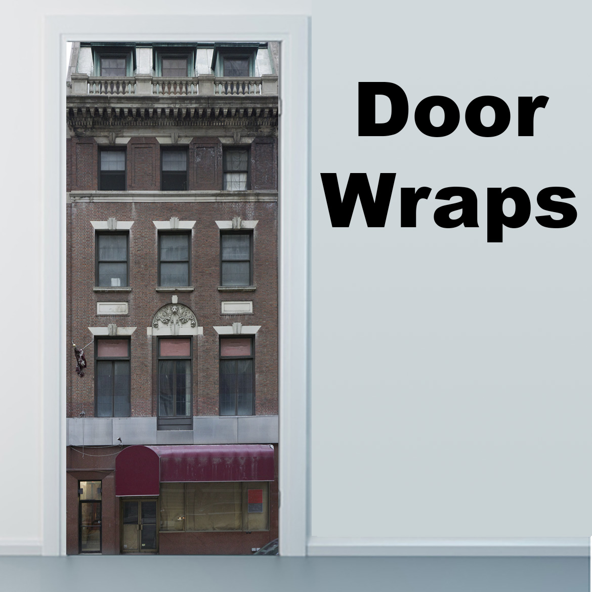 Prime Building Door Wrap