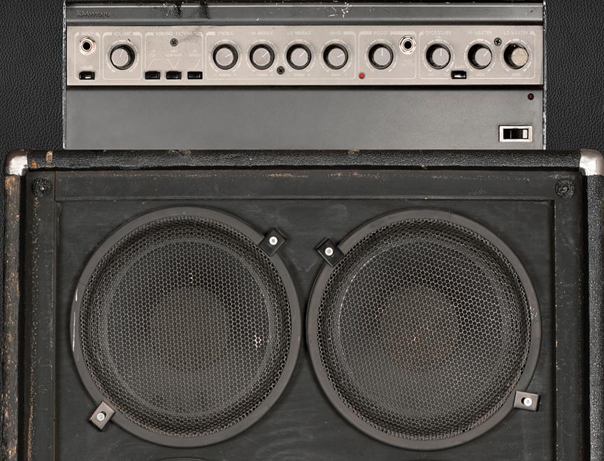 Amplified 8 Speakers Door wrap close up