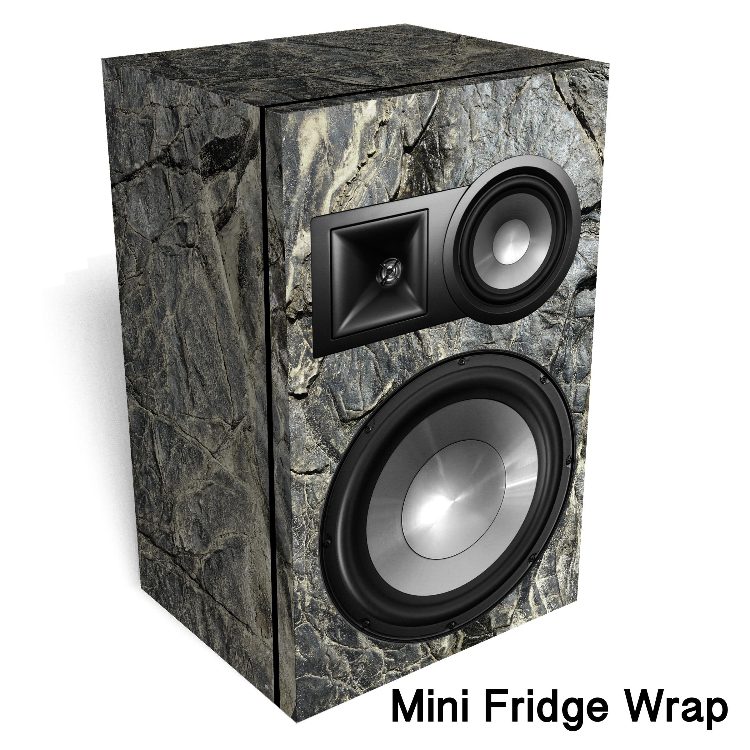 Hard Rock Speaker Mini Fridge Wrap
