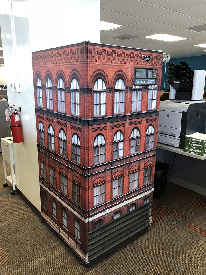 Sidney Federal Building design wrap