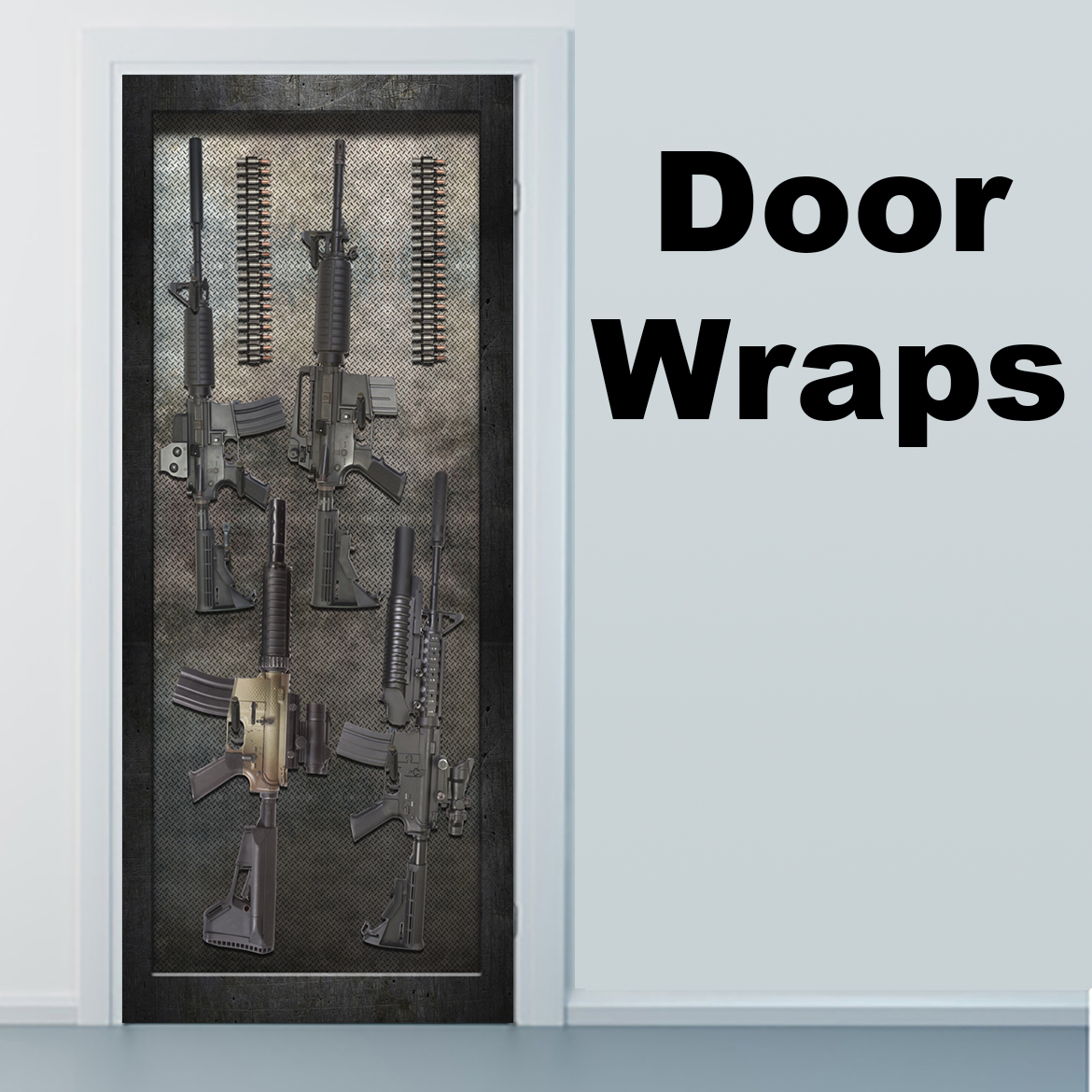 Armory Big Boy Guns Door wrap