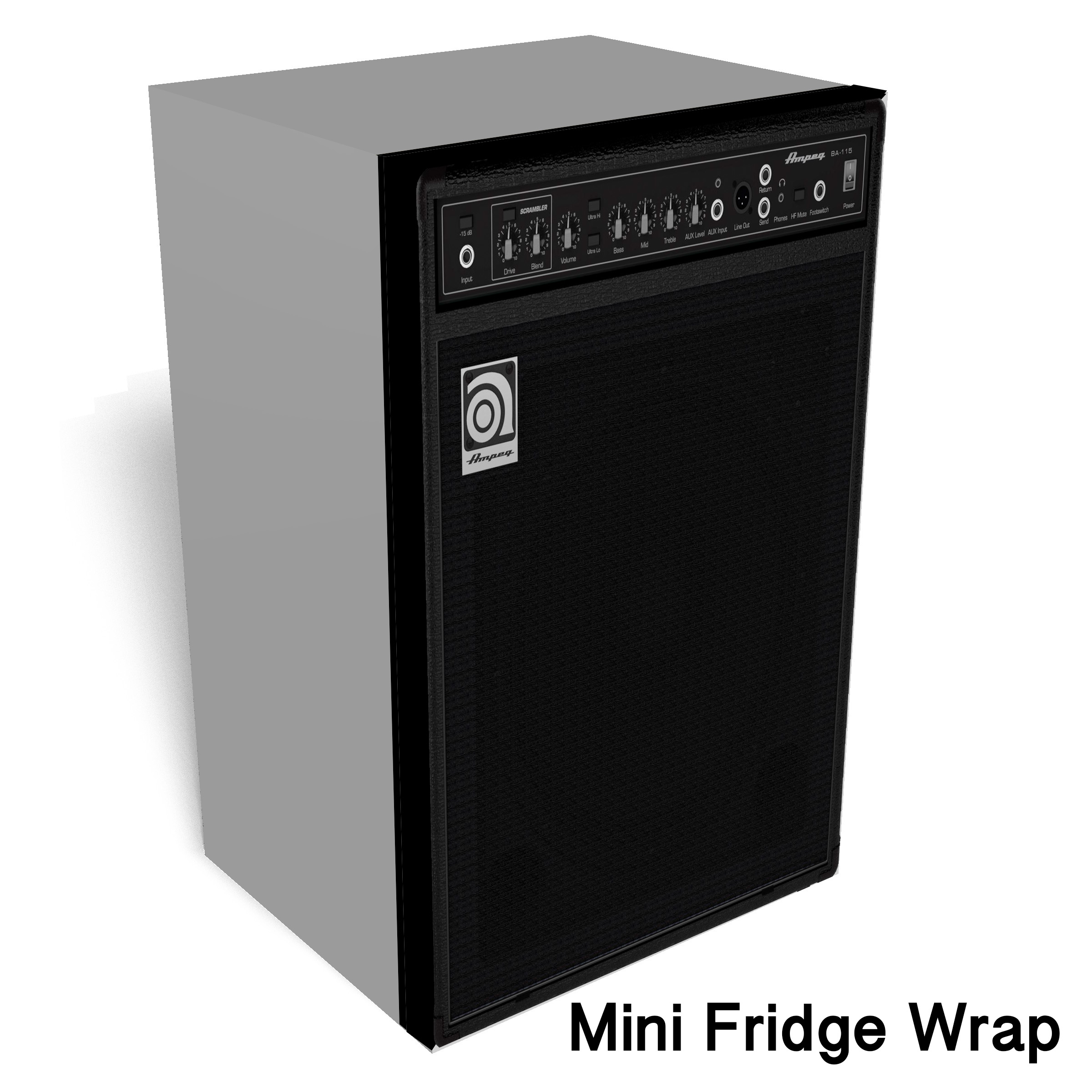 Ampeg Bass Mini Fridge Wrap