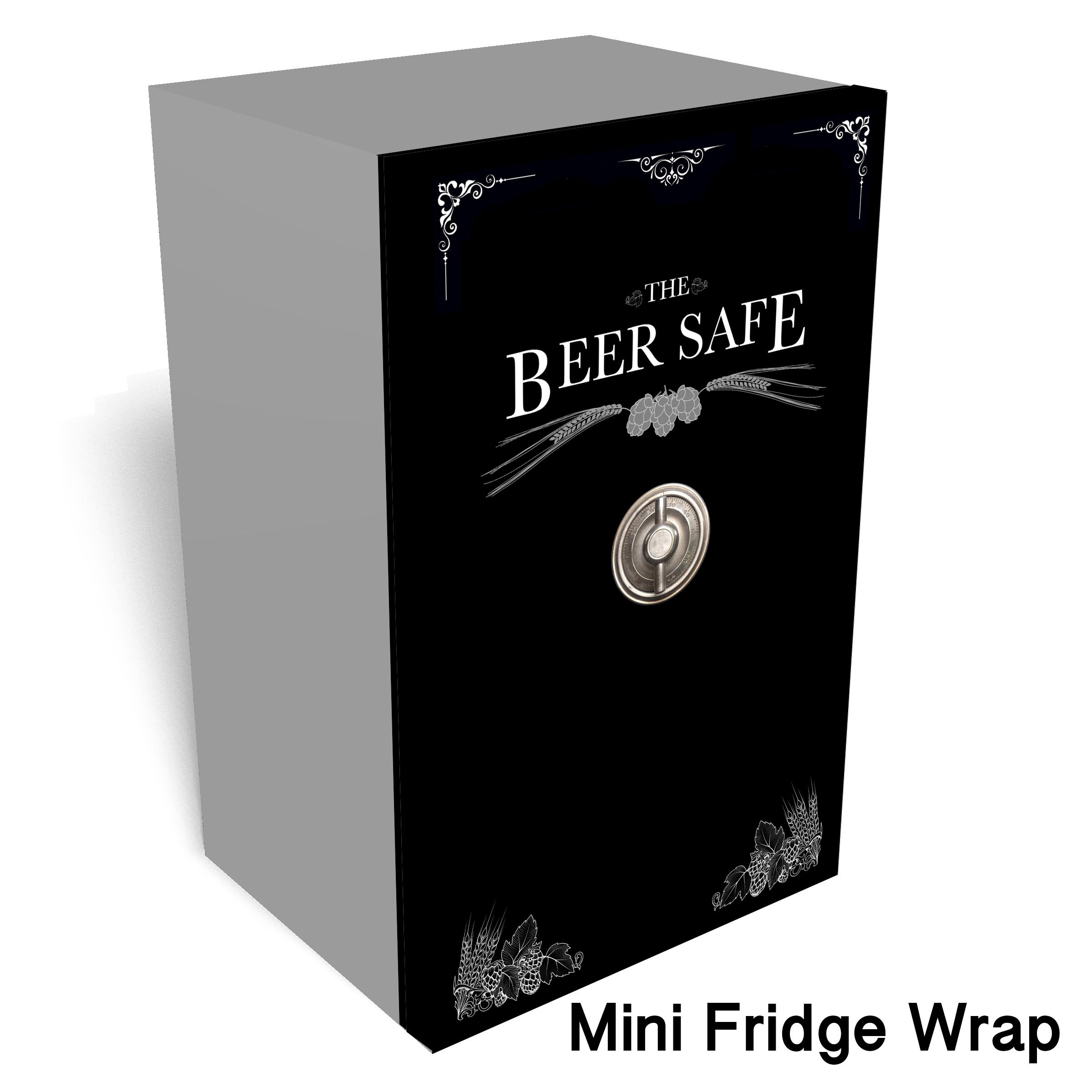 Beer Safe Mini Fridge Wrap