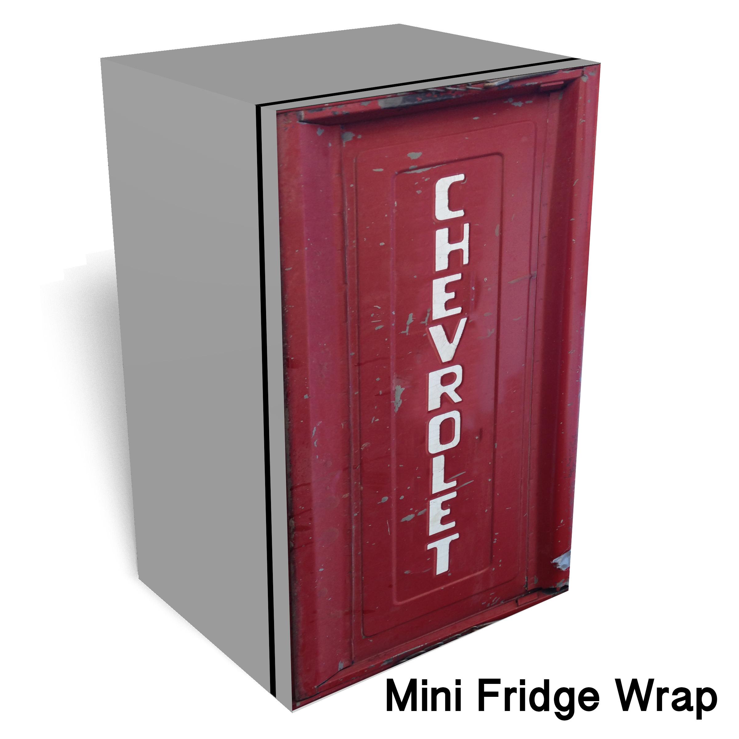 Old Chevorlet tailgate wrap sticker
