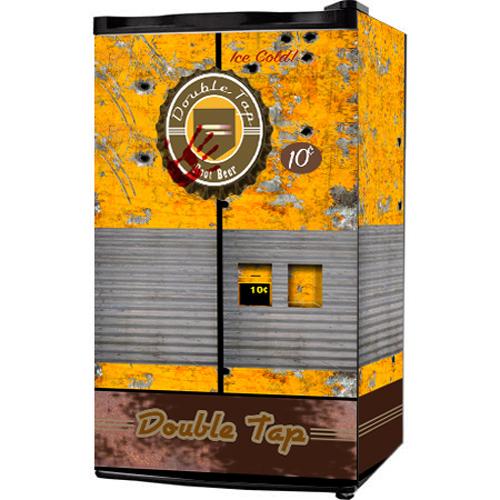 Call of Duty Double tap Root beer Mini Fridge wrap
