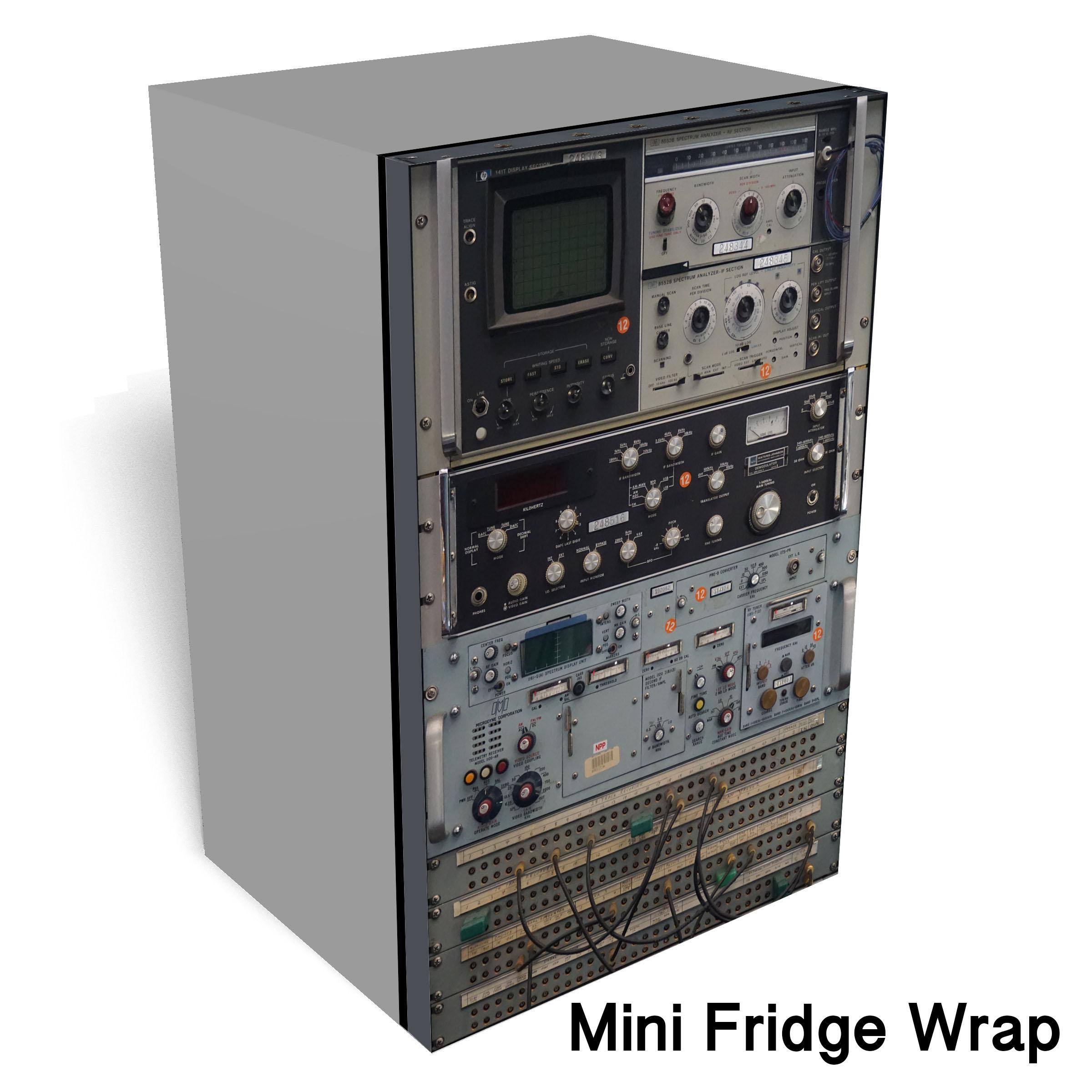 oscilloscope 1 Mini fridge wrap1
