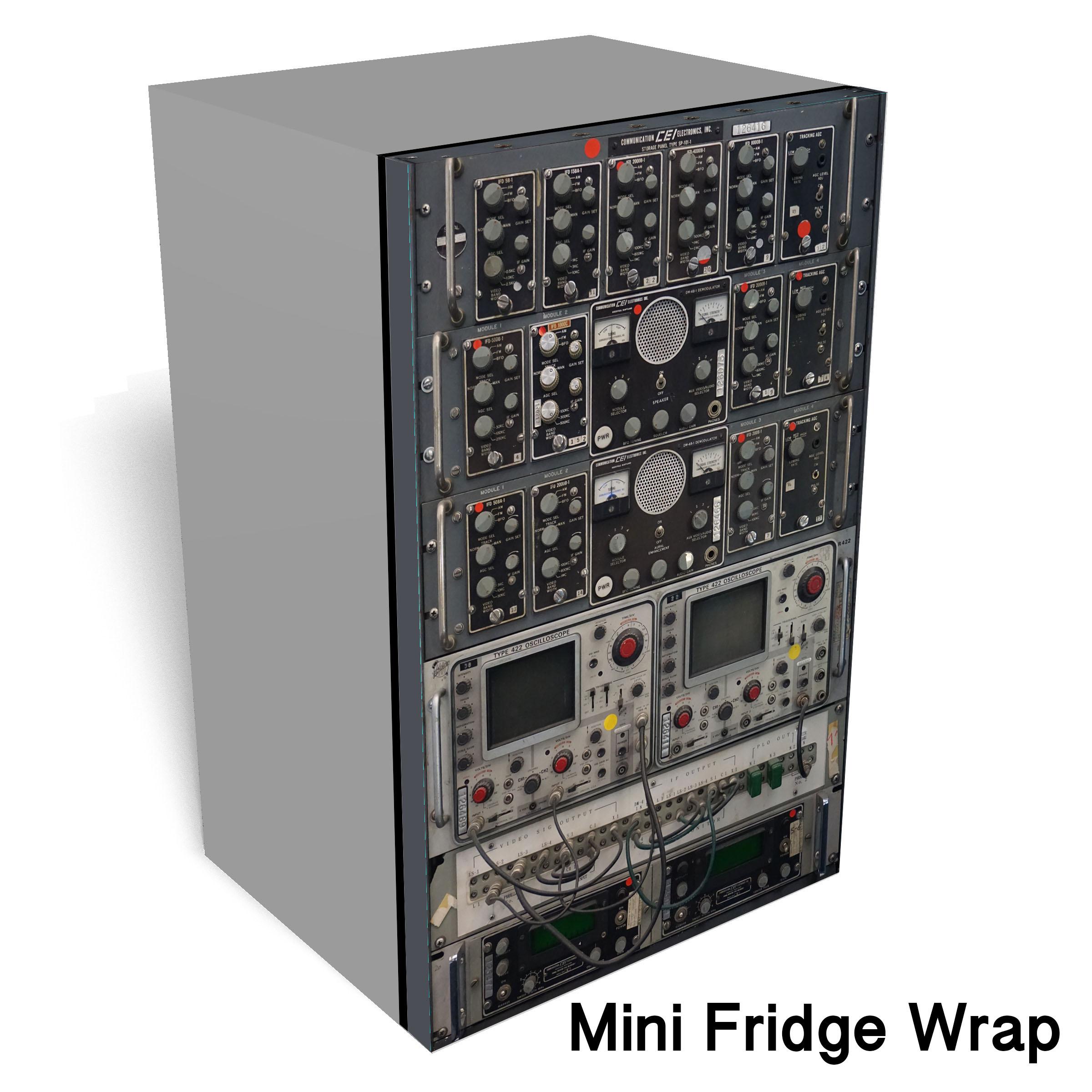 oscilloscope 2 Mini fridge wrap2