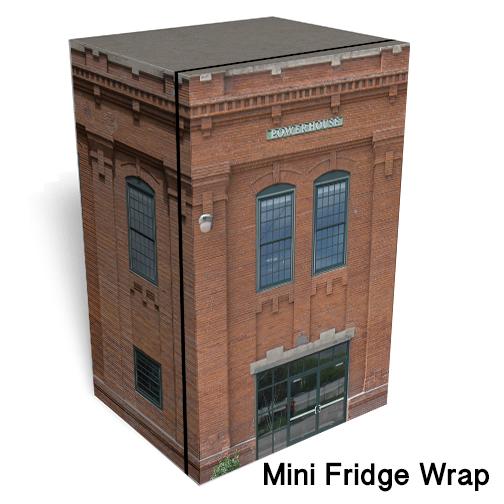 Powerhouse Mini Fridge Skin