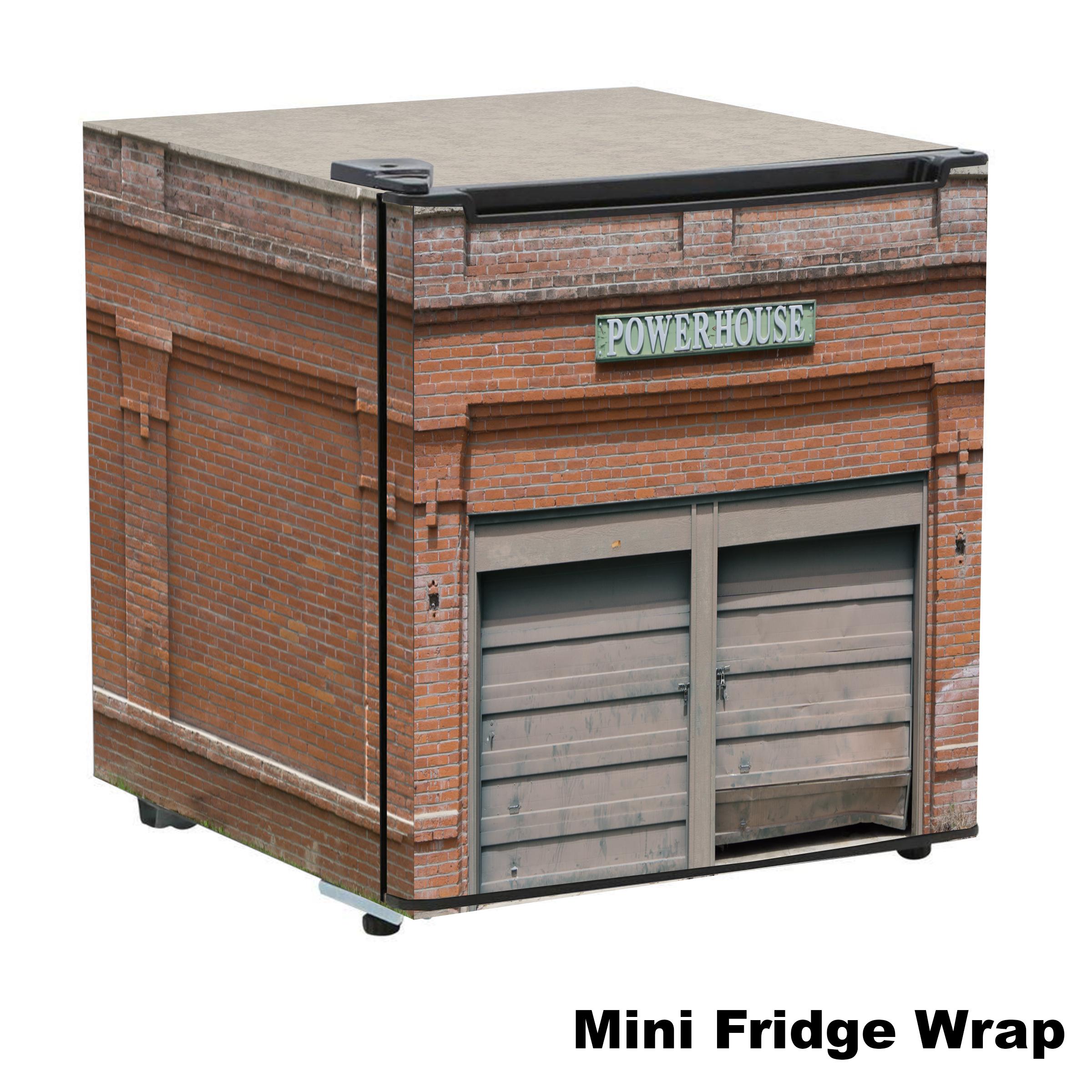 Powerhouse 1.7 cu Mini Fridge Skin
