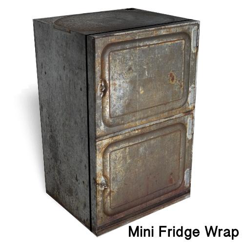 Toledo Mini Fridge wrap