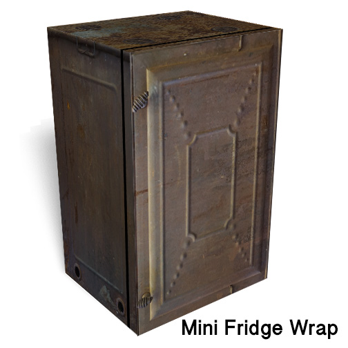 Wheeling Mini Fridge Wrap