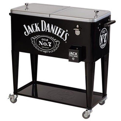 Jack Daniel's 80-qt. Rolling party ice cooler
