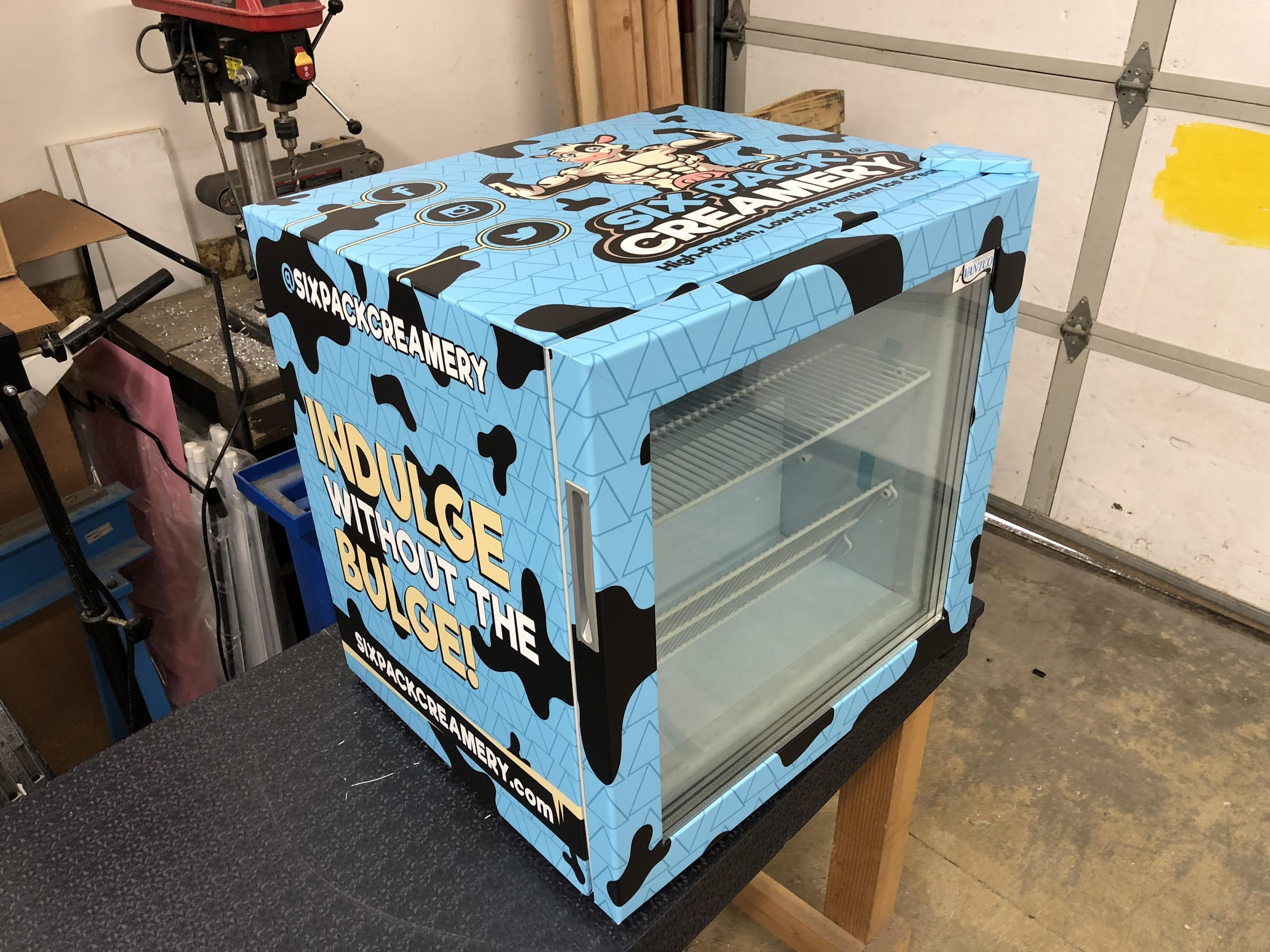 SIX PACK CREAMERY Freezer Wrap
